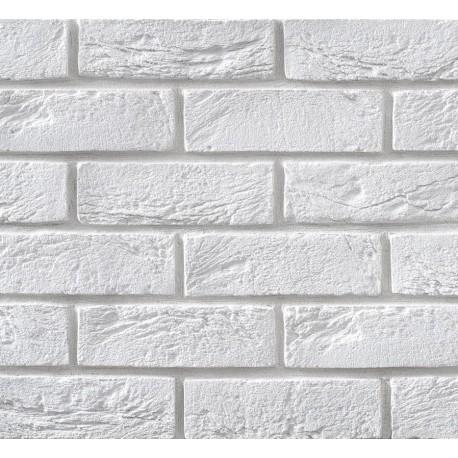 Elastyczna Cegła Dekoracyjna Retro Biała