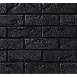 Elastyczna Cegła Dekoracyjna Retro Czarna