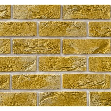 Elastyczna Cegła Dekoracyjna Retro Żółta
