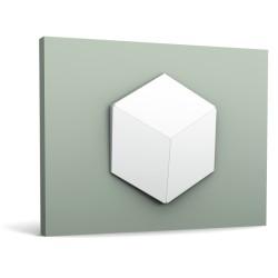 Panele ścienne 3D, W105 Romb