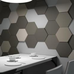 HEXAGON Panele 3D