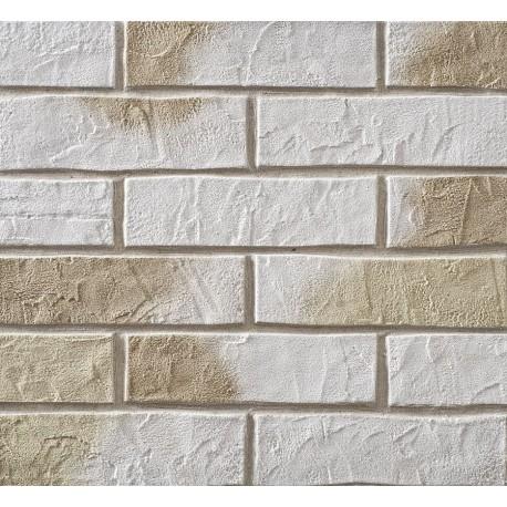 Elastyczna Cegła Dekoracyjna Beżow-biała