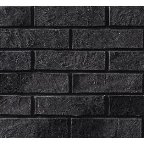 Elastyczna Cegła Dekoracyjna Czarna